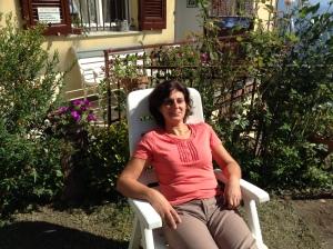 La segretaria prende il sole dell'equinozio d'autunno - 21-9-2013