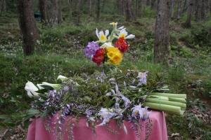 Wesak 2013 - I fiori portati dai partecipanti