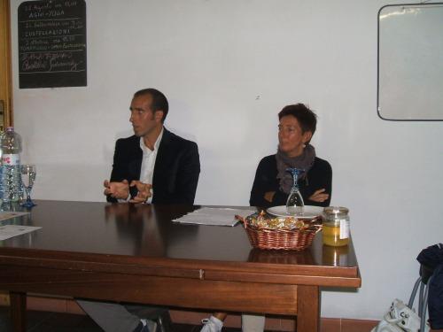 i Dott.ri Aliotta e Favalli in Conferenza alla Casetta