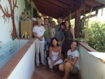 Gruppo con Rodolfo, Kayoko, Laura e altri