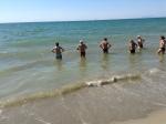 "Esercizi in acqua a ""Salafico Beach"""