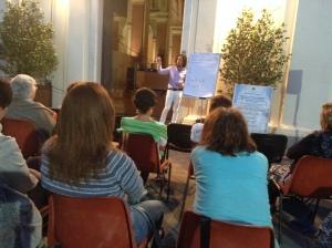 Matteo Mugnai in conferenza a Chiavari -  estate 2014