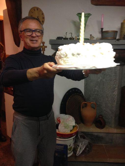 La torta del Presidente